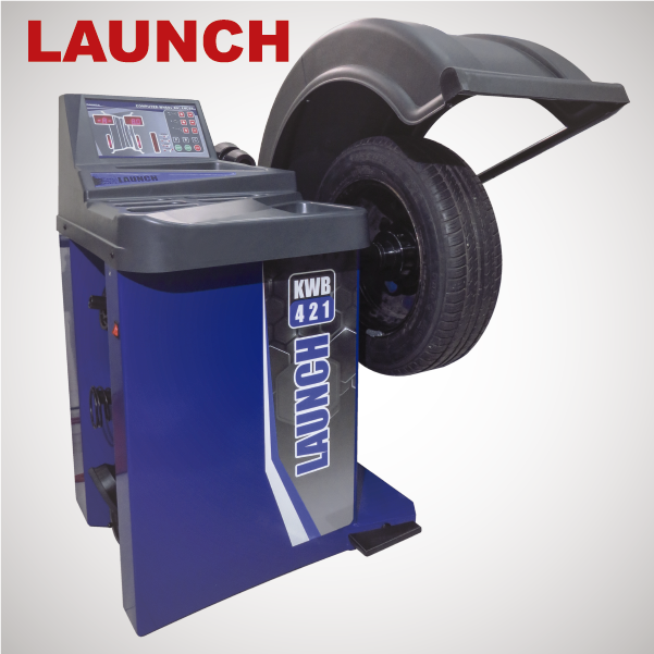 Launch KWB-421 Wheel Balancer